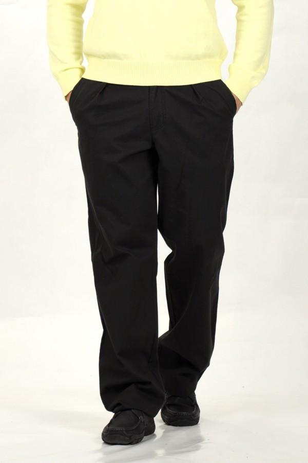 fekete vászon nadrág