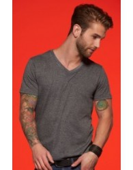 James & Nicholson Férfi V-nyakú póló