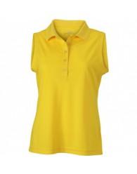 James & Nicholson sárga színű női ujjatlan póló