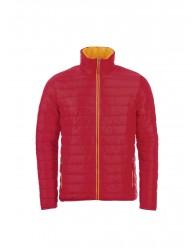Férfi vékony dzseki piros színű